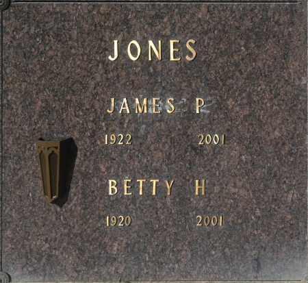 JONES, JAMES P - Washington County, Oklahoma | JAMES P JONES - Oklahoma Gravestone Photos