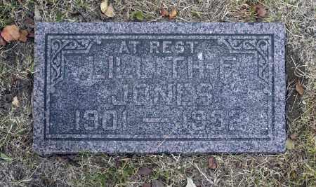 JONES, LILLITH F - Washington County, Oklahoma | LILLITH F JONES - Oklahoma Gravestone Photos