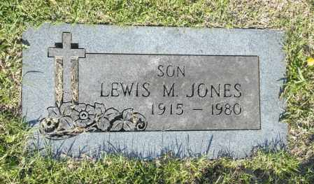 JONES, LEWIS M. - Washington County, Oklahoma   LEWIS M. JONES - Oklahoma Gravestone Photos
