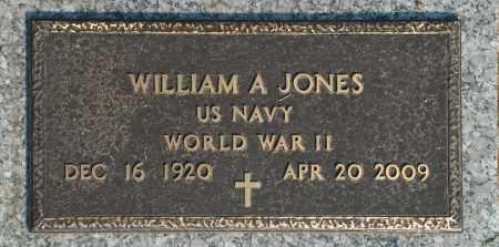 JONES, WILLIAM A. - Washington County, Oklahoma | WILLIAM A. JONES - Oklahoma Gravestone Photos