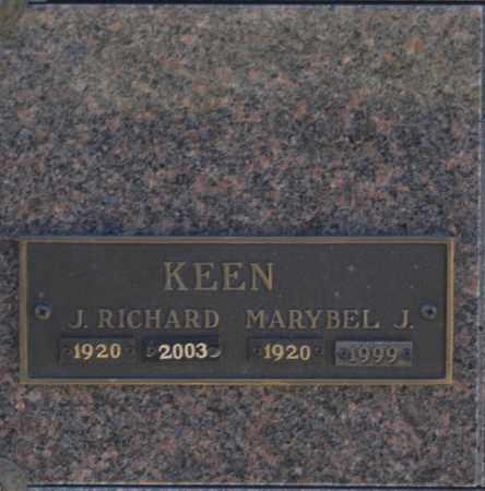 KEEN, MARYBEL J - Washington County, Oklahoma | MARYBEL J KEEN - Oklahoma Gravestone Photos