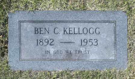 KELLOGG, BEN C - Washington County, Oklahoma   BEN C KELLOGG - Oklahoma Gravestone Photos
