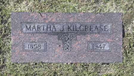 KILCREASE, MARTHA J - Washington County, Oklahoma | MARTHA J KILCREASE - Oklahoma Gravestone Photos