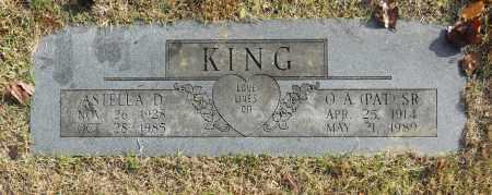 KING, O. A. (PAT) SR - Washington County, Oklahoma | O. A. (PAT) SR KING - Oklahoma Gravestone Photos