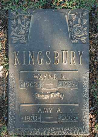 KINGSBURY, AMY A. - Washington County, Oklahoma | AMY A. KINGSBURY - Oklahoma Gravestone Photos