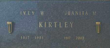 KIRTLEY, IVEY W - Washington County, Oklahoma   IVEY W KIRTLEY - Oklahoma Gravestone Photos