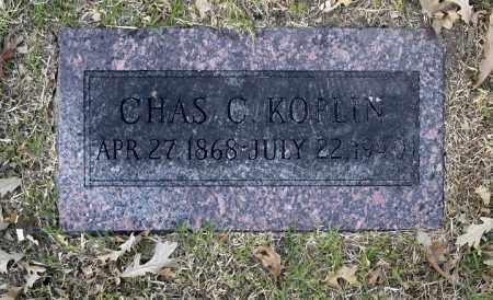 KOPLIN, CHAS C - Washington County, Oklahoma | CHAS C KOPLIN - Oklahoma Gravestone Photos