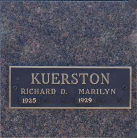 KUERSTON, MARILYN - Washington County, Oklahoma | MARILYN KUERSTON - Oklahoma Gravestone Photos
