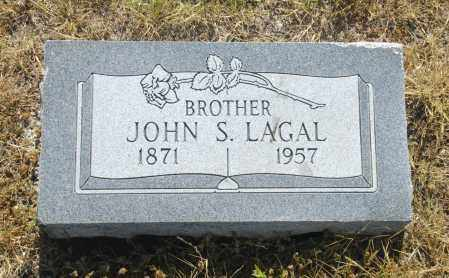 LAGAL, JOHN S. - Washington County, Oklahoma | JOHN S. LAGAL - Oklahoma Gravestone Photos