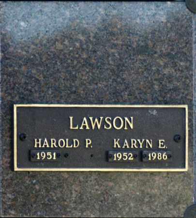 LAWSON, KARYN E - Washington County, Oklahoma   KARYN E LAWSON - Oklahoma Gravestone Photos