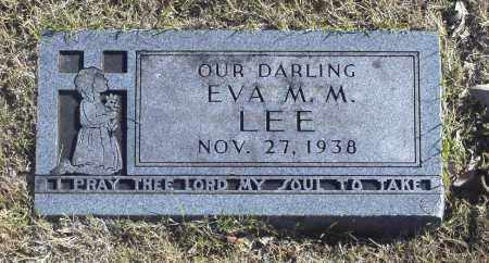 LEE, EVA M M - Washington County, Oklahoma | EVA M M LEE - Oklahoma Gravestone Photos