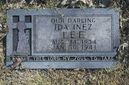 LEE, IDA INEZ - Washington County, Oklahoma   IDA INEZ LEE - Oklahoma Gravestone Photos