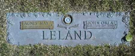 LELAND, JOHN ORLA - Washington County, Oklahoma | JOHN ORLA LELAND - Oklahoma Gravestone Photos