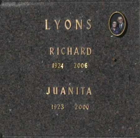 LYONS, RICHARD - Washington County, Oklahoma | RICHARD LYONS - Oklahoma Gravestone Photos