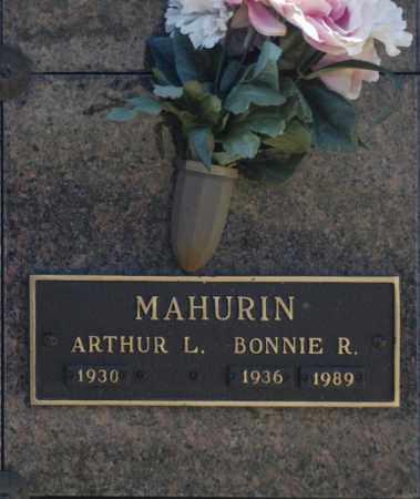MAHURIN, BONNIE R - Washington County, Oklahoma | BONNIE R MAHURIN - Oklahoma Gravestone Photos