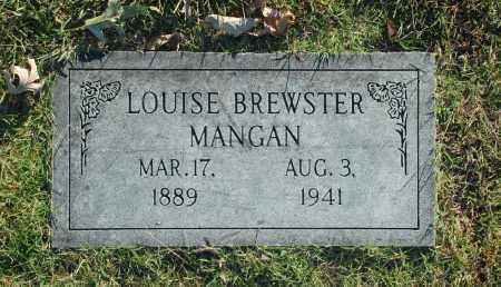 BREWSTER MANGAN, LOUISE - Washington County, Oklahoma   LOUISE BREWSTER MANGAN - Oklahoma Gravestone Photos