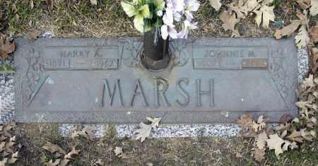 MARSH, JOHNNIE M - Washington County, Oklahoma | JOHNNIE M MARSH - Oklahoma Gravestone Photos