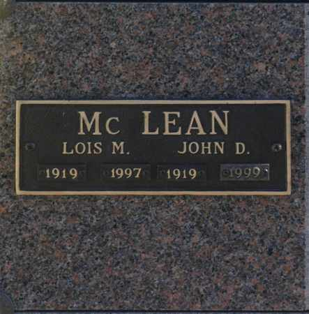 MC LEAN, LOIS M - Washington County, Oklahoma | LOIS M MC LEAN - Oklahoma Gravestone Photos
