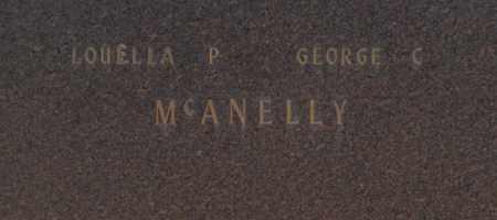 MCANELLY, LOUELLA P - Washington County, Oklahoma | LOUELLA P MCANELLY - Oklahoma Gravestone Photos