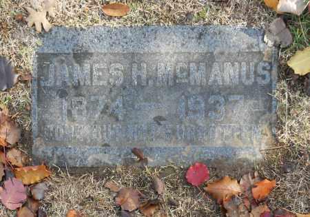 MCMANUS, JAMES H - Washington County, Oklahoma   JAMES H MCMANUS - Oklahoma Gravestone Photos