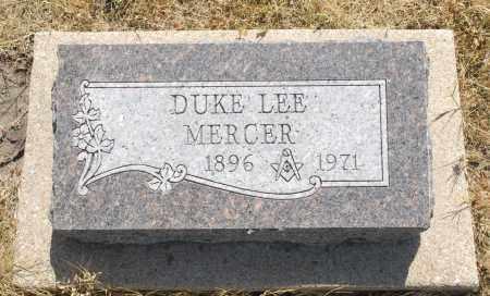 MERCER, DUKE LEE - Washington County, Oklahoma   DUKE LEE MERCER - Oklahoma Gravestone Photos