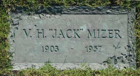 "MIZER, V. H. ""JACK"" - Washington County, Oklahoma | V. H. ""JACK"" MIZER - Oklahoma Gravestone Photos"