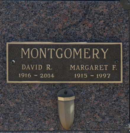 MONTGOMERY, MARGARET F - Washington County, Oklahoma | MARGARET F MONTGOMERY - Oklahoma Gravestone Photos