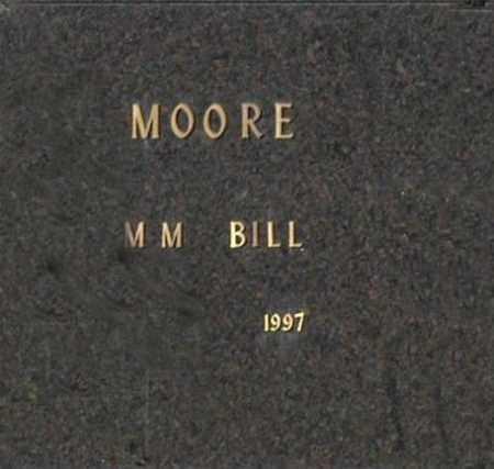 MOORE, M M BILL - Washington County, Oklahoma | M M BILL MOORE - Oklahoma Gravestone Photos