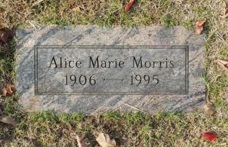 MORRIS, ALICE MARIE - Washington County, Oklahoma | ALICE MARIE MORRIS - Oklahoma Gravestone Photos