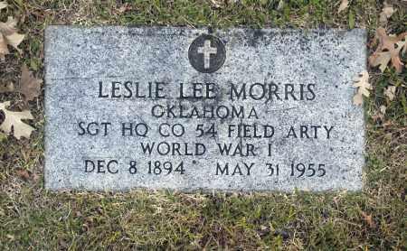 MORRIS (VETERAN WWI), LESLIE LEE - Washington County, Oklahoma | LESLIE LEE MORRIS (VETERAN WWI) - Oklahoma Gravestone Photos