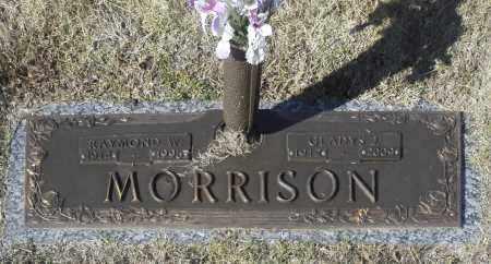 MORRISON, RAYMOND W - Washington County, Oklahoma | RAYMOND W MORRISON - Oklahoma Gravestone Photos