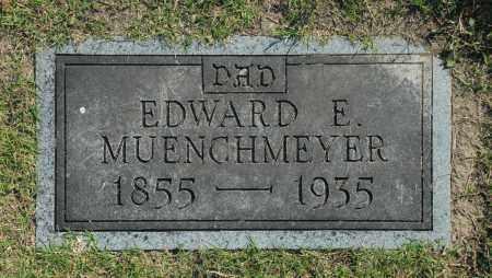 MUENCHMEYER, EDWARD E. - Washington County, Oklahoma | EDWARD E. MUENCHMEYER - Oklahoma Gravestone Photos