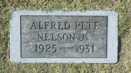 NELSON, ALFRED PETE JR - Washington County, Oklahoma | ALFRED PETE JR NELSON - Oklahoma Gravestone Photos