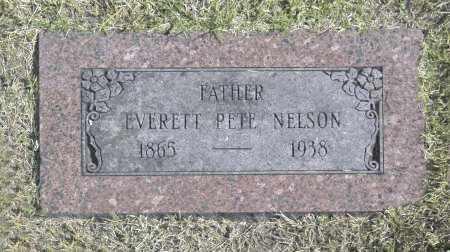 NELSON, EVERETT PETE - Washington County, Oklahoma   EVERETT PETE NELSON - Oklahoma Gravestone Photos