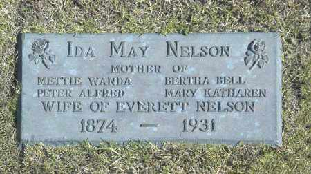 NELSON, IDA MAY - Washington County, Oklahoma   IDA MAY NELSON - Oklahoma Gravestone Photos