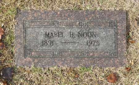 NOON, MABEL H - Washington County, Oklahoma | MABEL H NOON - Oklahoma Gravestone Photos