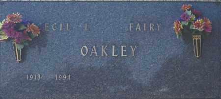 OAKLEY, FAIRY - Washington County, Oklahoma | FAIRY OAKLEY - Oklahoma Gravestone Photos