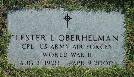 OBERHELMAN, LESTER L. - Washington County, Oklahoma   LESTER L. OBERHELMAN - Oklahoma Gravestone Photos