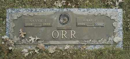 ORR, EARK C - Washington County, Oklahoma | EARK C ORR - Oklahoma Gravestone Photos