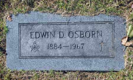 OSBORN, EDWIN D - Washington County, Oklahoma   EDWIN D OSBORN - Oklahoma Gravestone Photos