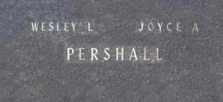 PERSHALL, WESLEY L - Washington County, Oklahoma   WESLEY L PERSHALL - Oklahoma Gravestone Photos