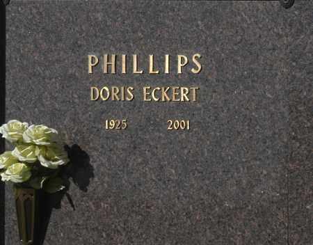 PHILLIPS, DORIS ECKERT - Washington County, Oklahoma | DORIS ECKERT PHILLIPS - Oklahoma Gravestone Photos
