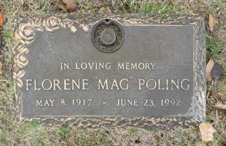 "POLING, FLORENE ""MAG"" - Washington County, Oklahoma   FLORENE ""MAG"" POLING - Oklahoma Gravestone Photos"