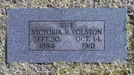 POLSTON, VICTORIA B - Washington County, Oklahoma   VICTORIA B POLSTON - Oklahoma Gravestone Photos