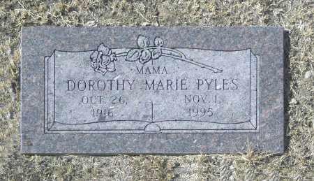 PYLES, DOROTHY MARIE - Washington County, Oklahoma | DOROTHY MARIE PYLES - Oklahoma Gravestone Photos