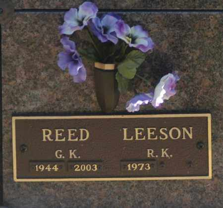 LEESON, R K - Washington County, Oklahoma   R K LEESON - Oklahoma Gravestone Photos