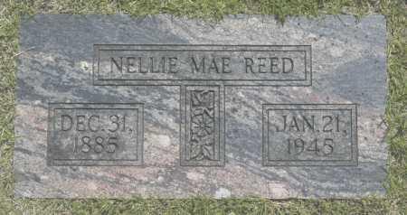REED, NELLIE MAE - Washington County, Oklahoma   NELLIE MAE REED - Oklahoma Gravestone Photos