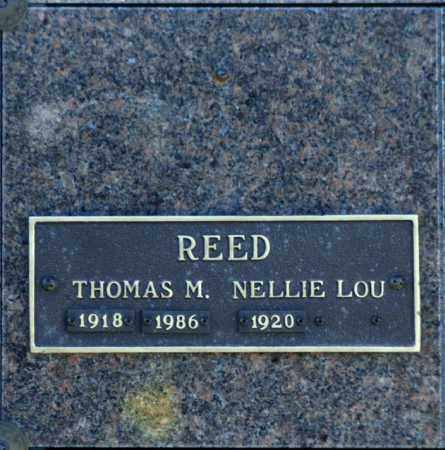 REED, THOMAS M - Washington County, Oklahoma   THOMAS M REED - Oklahoma Gravestone Photos