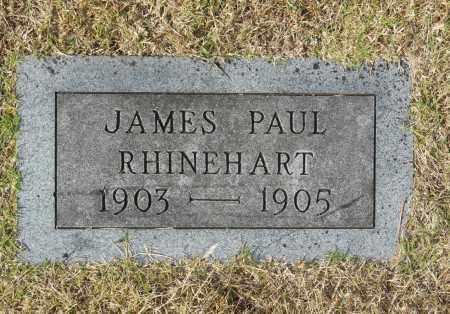 RHINEHART, JAMES PAUL - Washington County, Oklahoma   JAMES PAUL RHINEHART - Oklahoma Gravestone Photos