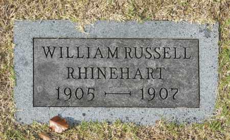 RHINEHART, WILLIAM RUSSELL - Washington County, Oklahoma | WILLIAM RUSSELL RHINEHART - Oklahoma Gravestone Photos